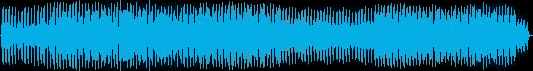 脈打つビートとクールなシンセサイザ...の再生済みの波形
