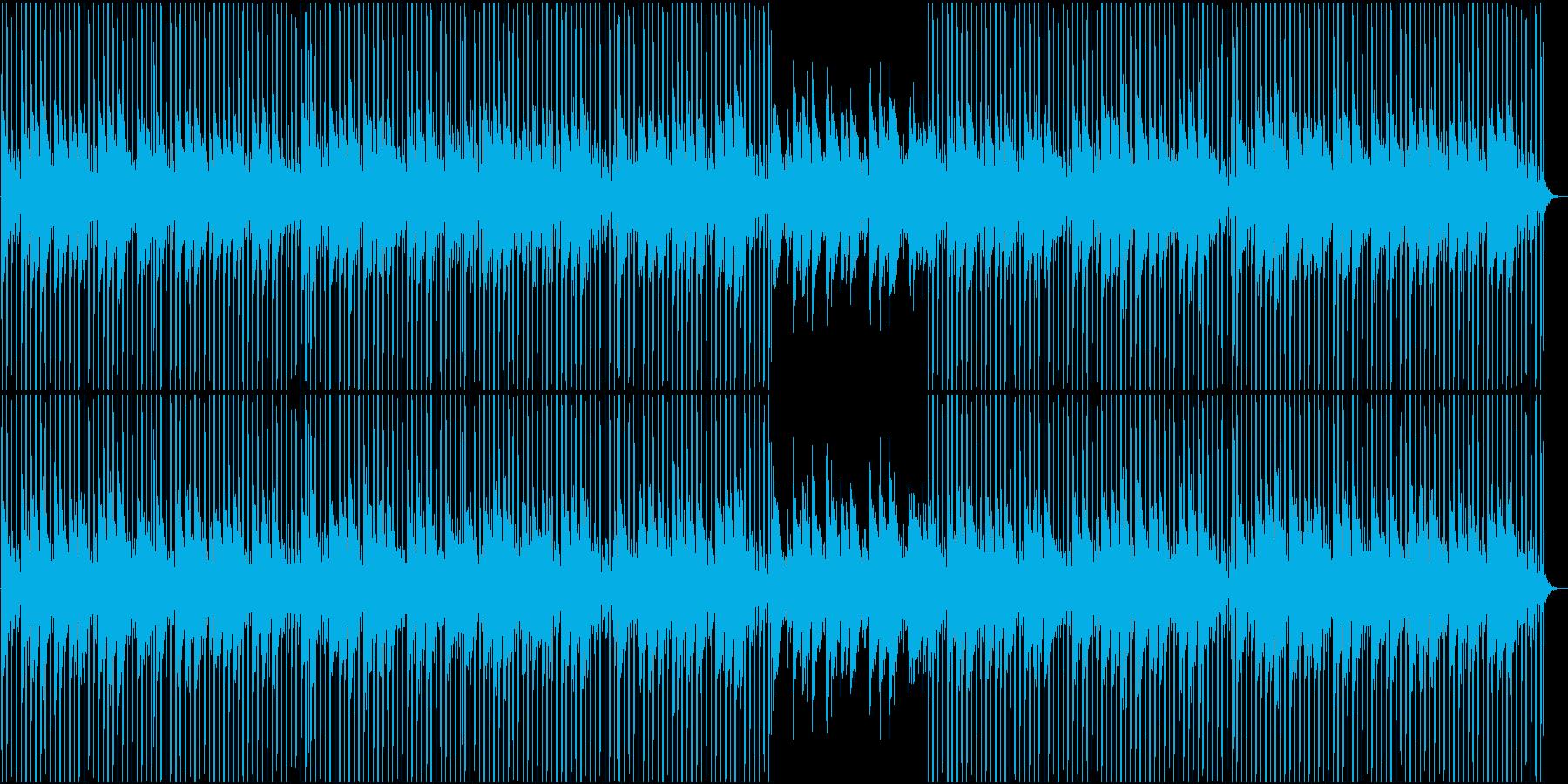 優しい気持ちになるチル・ローファイの再生済みの波形