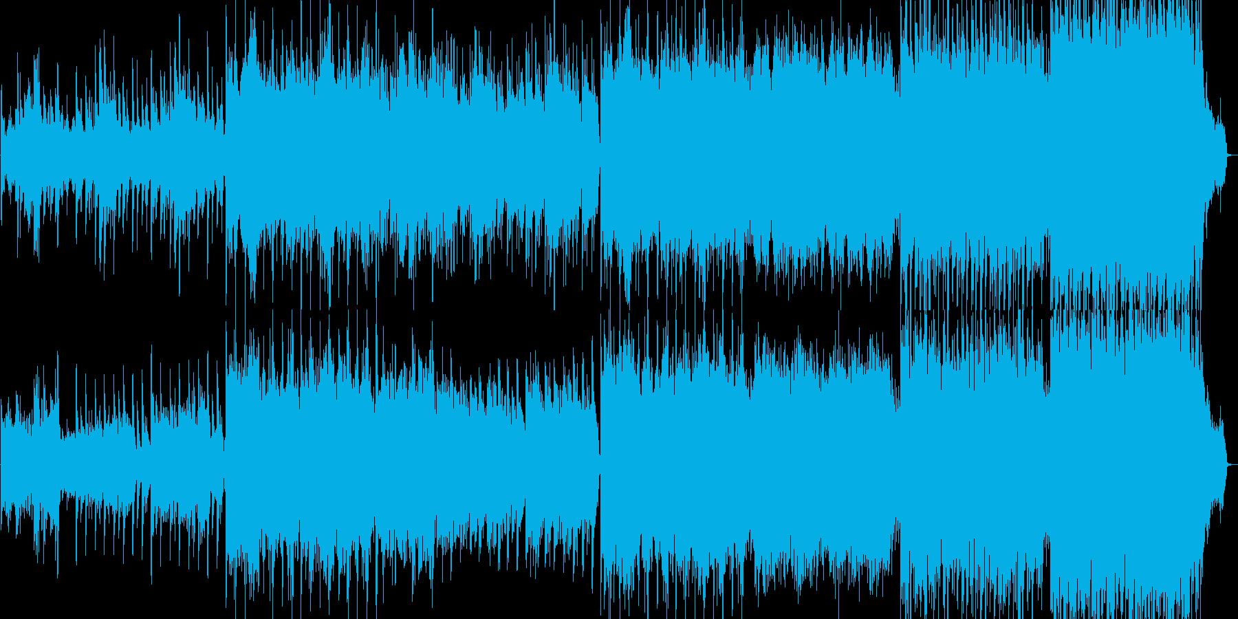 バラード。ハッピー。ポジティブ。ロ...の再生済みの波形