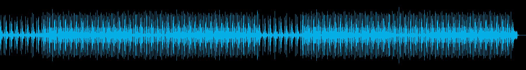 ニュースの怪しい場面のような曲の再生済みの波形