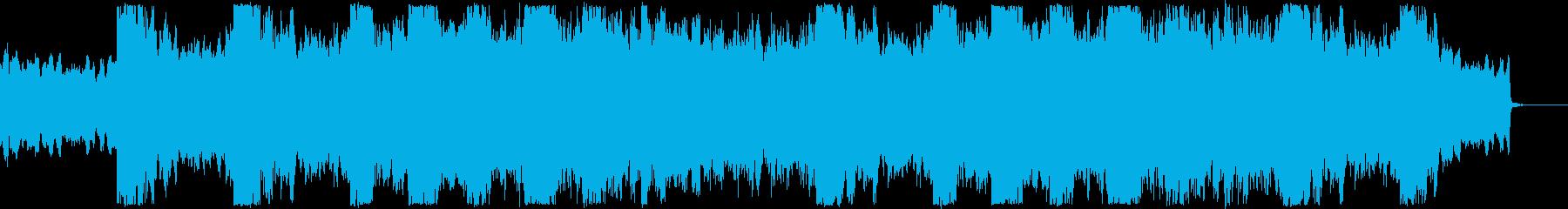 オーケストラでインスピレーションな曲の再生済みの波形