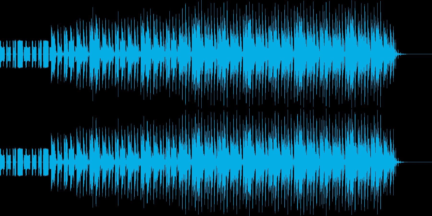 元気で明るいチップチューンEDMの再生済みの波形