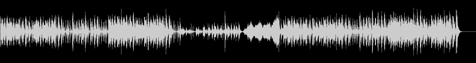 ポップなリズムのコメディータッチ劇伴の未再生の波形