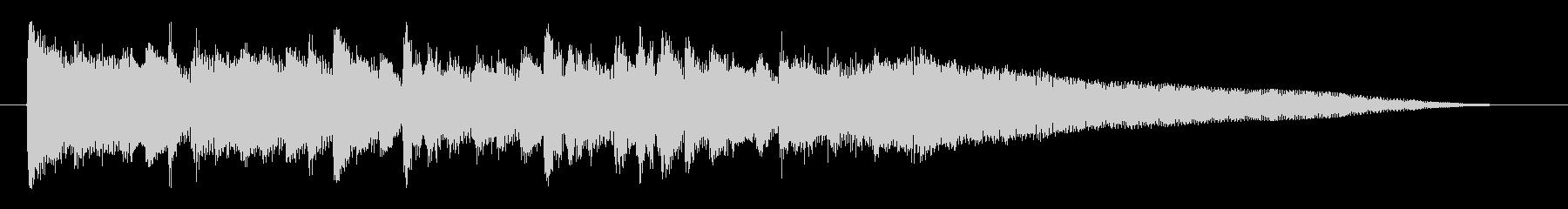洗練された近代的な映像オープニングロゴの未再生の波形