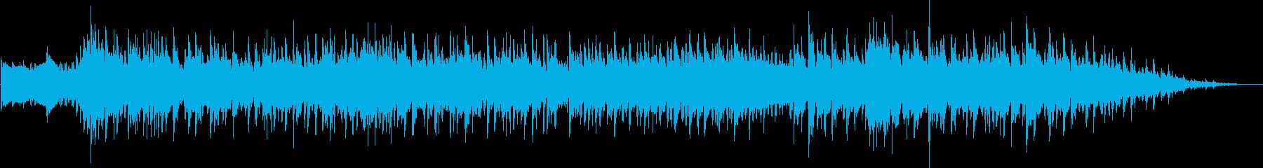 エイリアンのダンシングミュージックの再生済みの波形