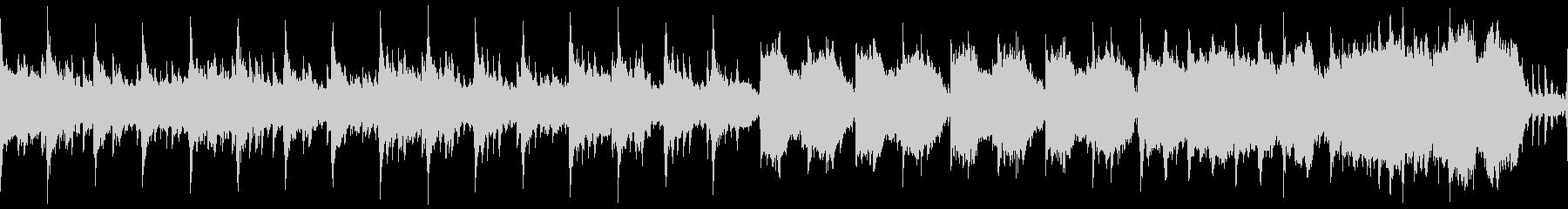 中世の不穏なゴシック曲(ループ)の未再生の波形