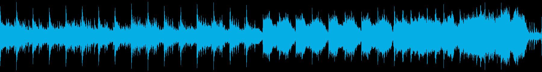 中世の不穏なゴシック曲(ループ)の再生済みの波形