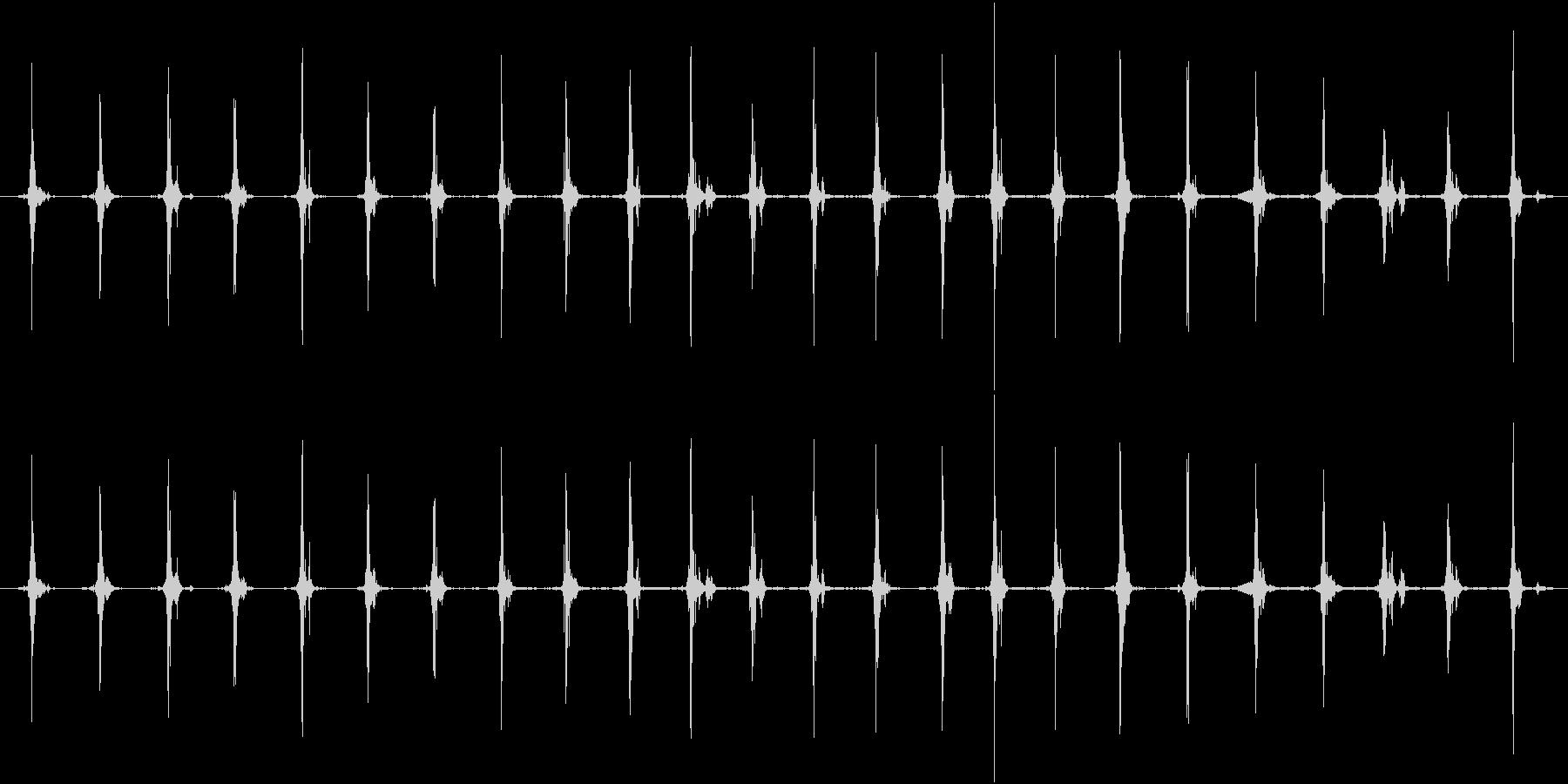 鳥 翼フラップ03の未再生の波形