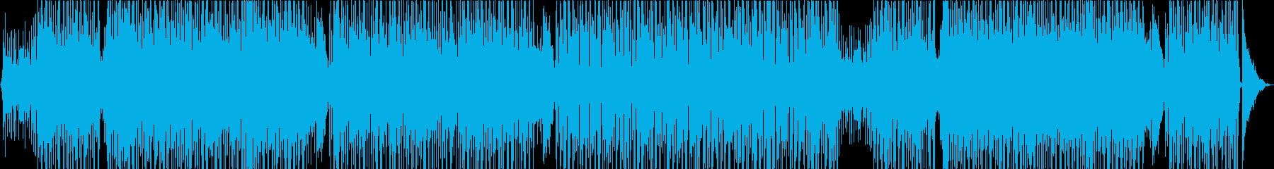 南国系スチール・ドラムのボサノバの再生済みの波形