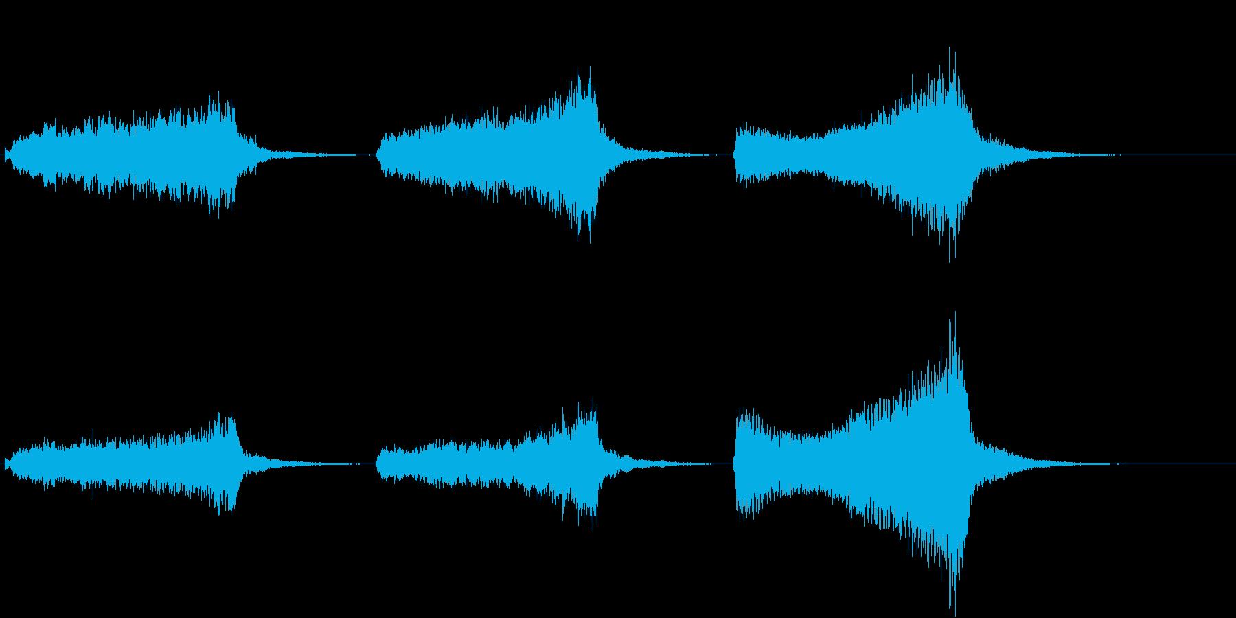 トムとジェリー風なアニメ音楽「驚き」2の再生済みの波形