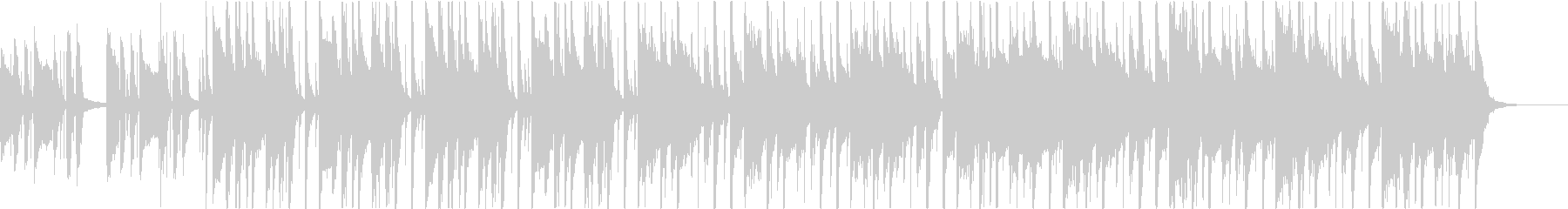 カッティング、都会的なファンクBGMの未再生の波形
