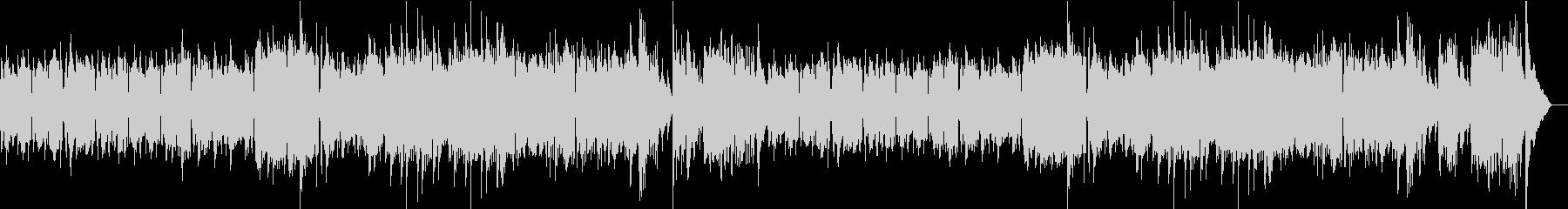 アコーディオンのシャンソン風明るいワルツの未再生の波形