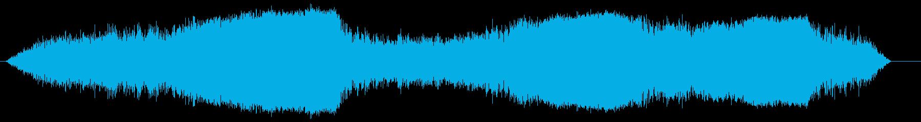 水上飛行機;波のあるライト(複数)...の再生済みの波形
