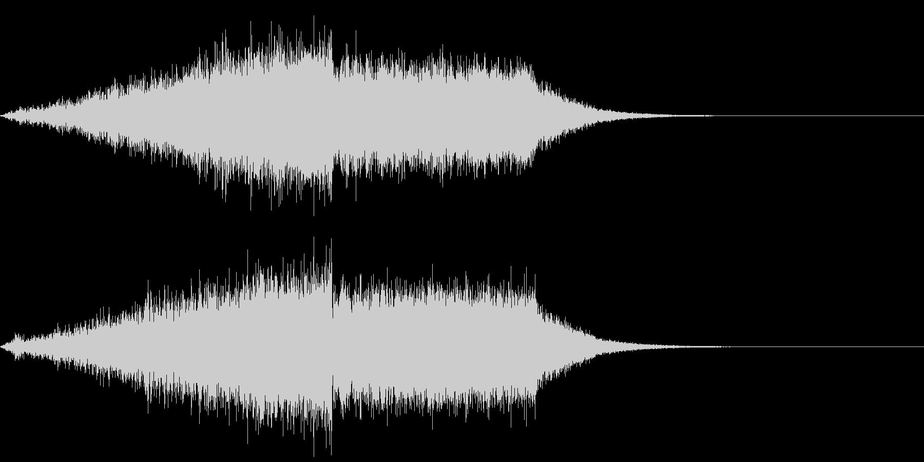 【ライザー】場面転換_05 盛り上がりの未再生の波形