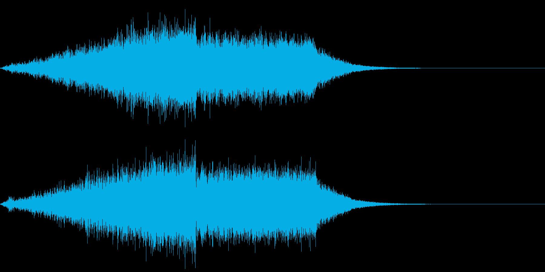 【ライザー】場面転換_05 盛り上がりの再生済みの波形