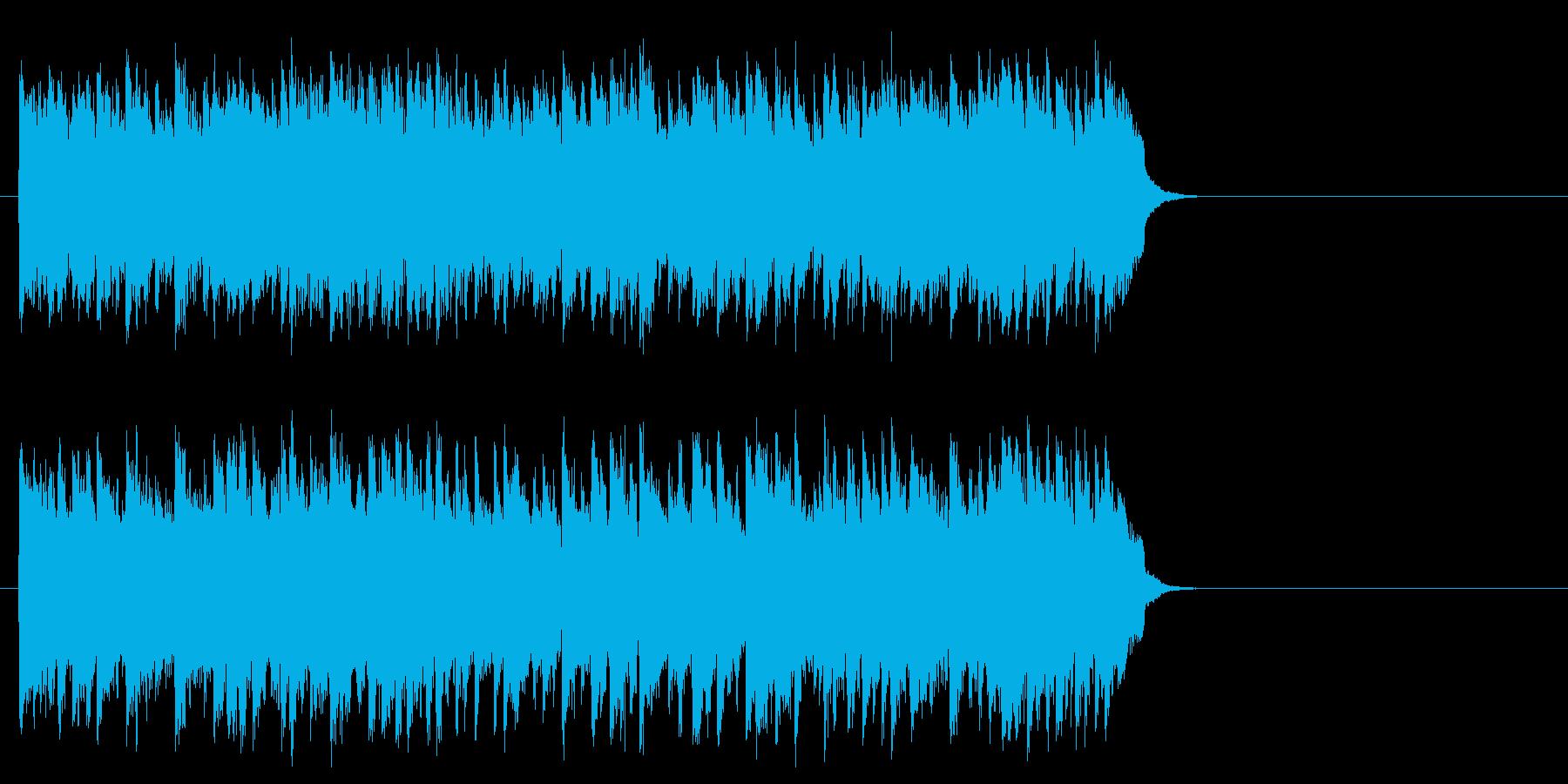 滑らかなピアノのバラード(サビ)の再生済みの波形