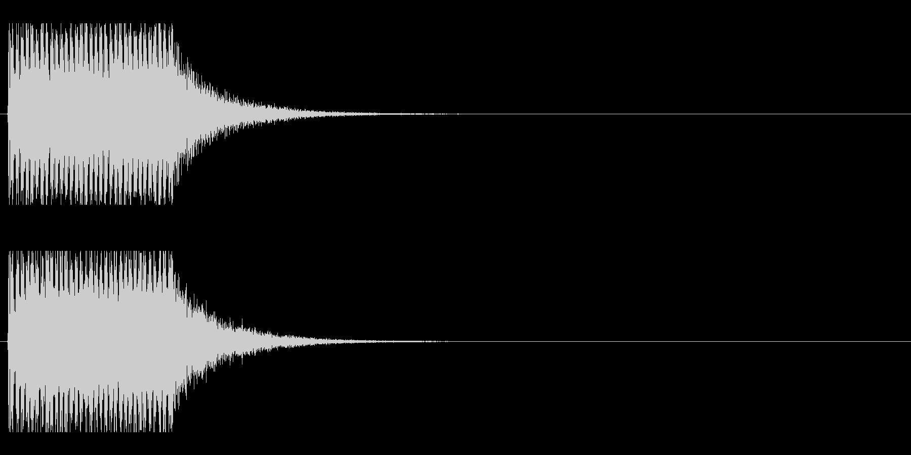 レーザー音-152-1の未再生の波形