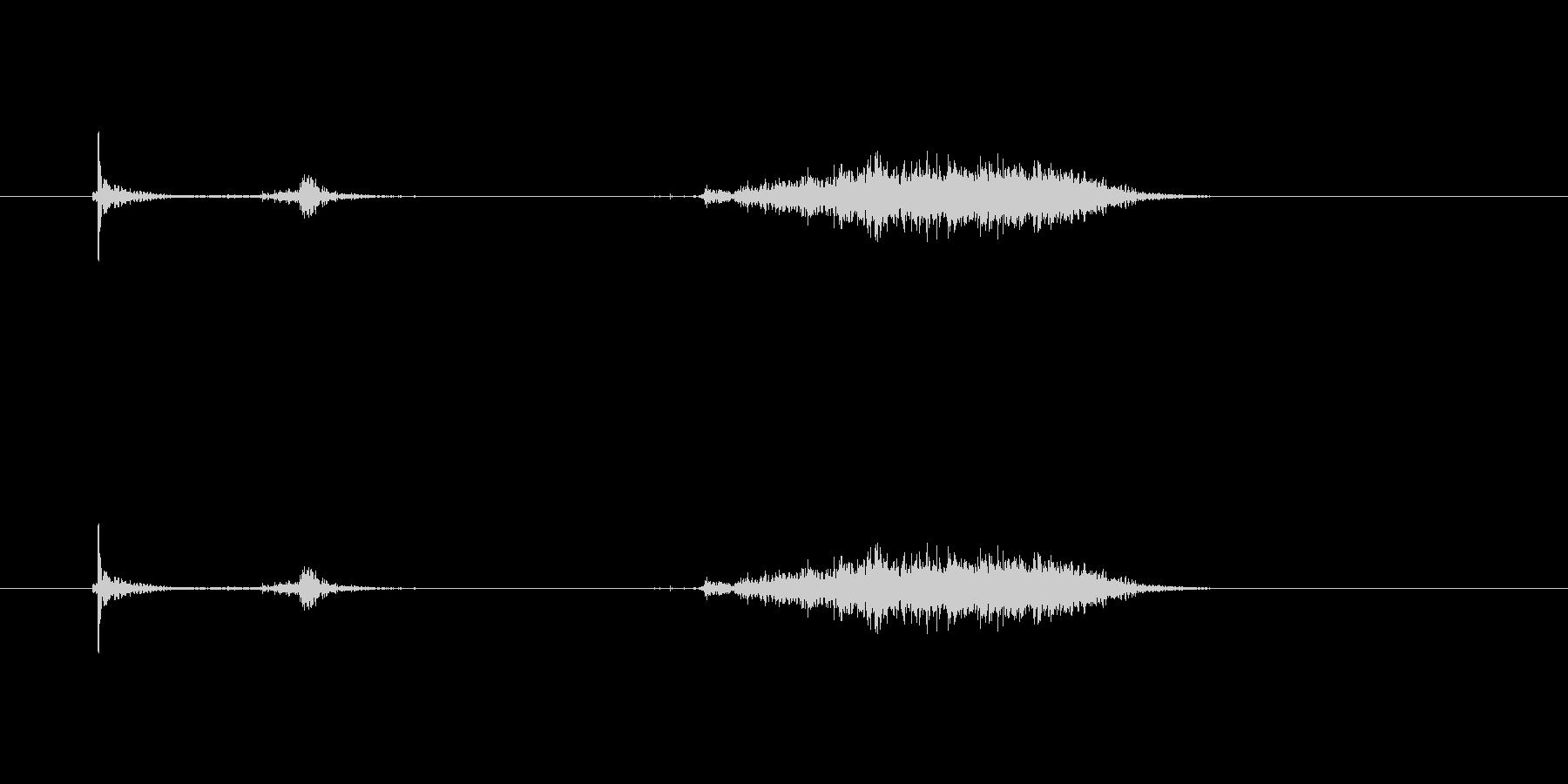 【カッター01-6(切る 段ボール)】の未再生の波形