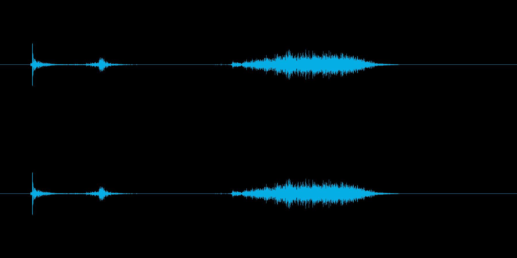 【カッター01-6(切る 段ボール)】の再生済みの波形