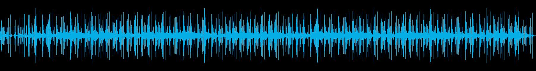 気楽でほのぼのする曲・ペット動画・キッズの再生済みの波形