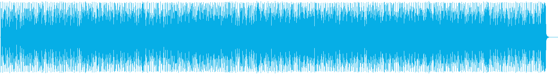 Easy melody with a near-future world view's reproduced waveform