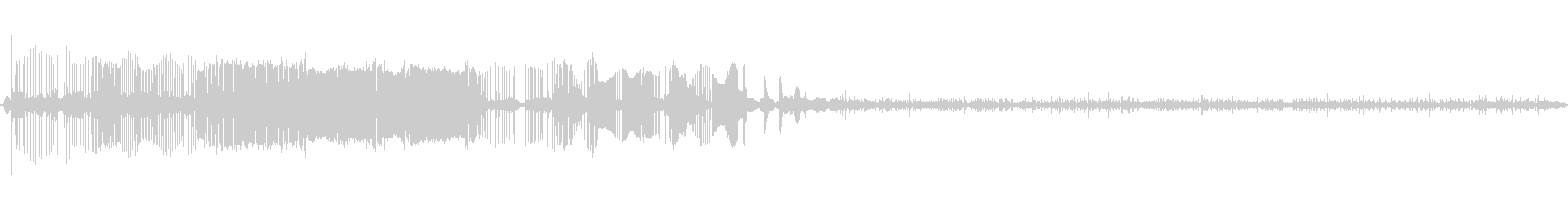 レコード傷4の未再生の波形