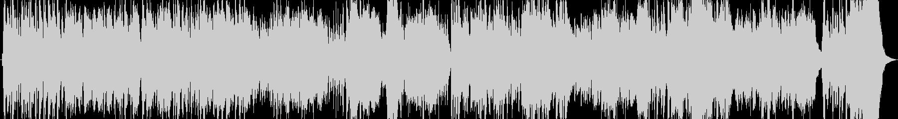 バロック調の雰囲気の豪華絢爛なBGMの未再生の波形