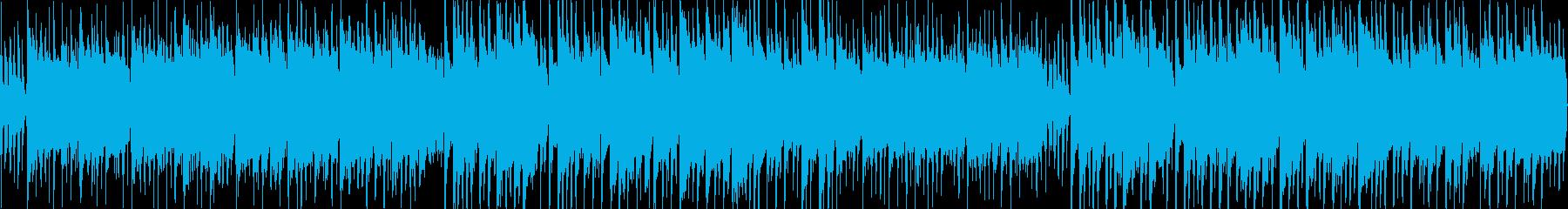 切なく哀愁のあるワールドミュージックの再生済みの波形