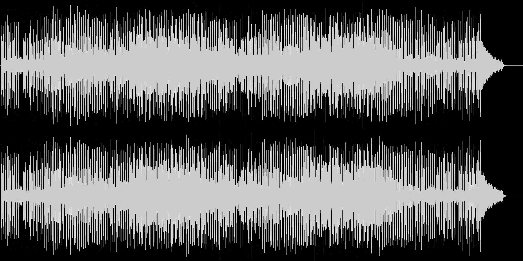 シックでスタイリッシュなBGMの未再生の波形