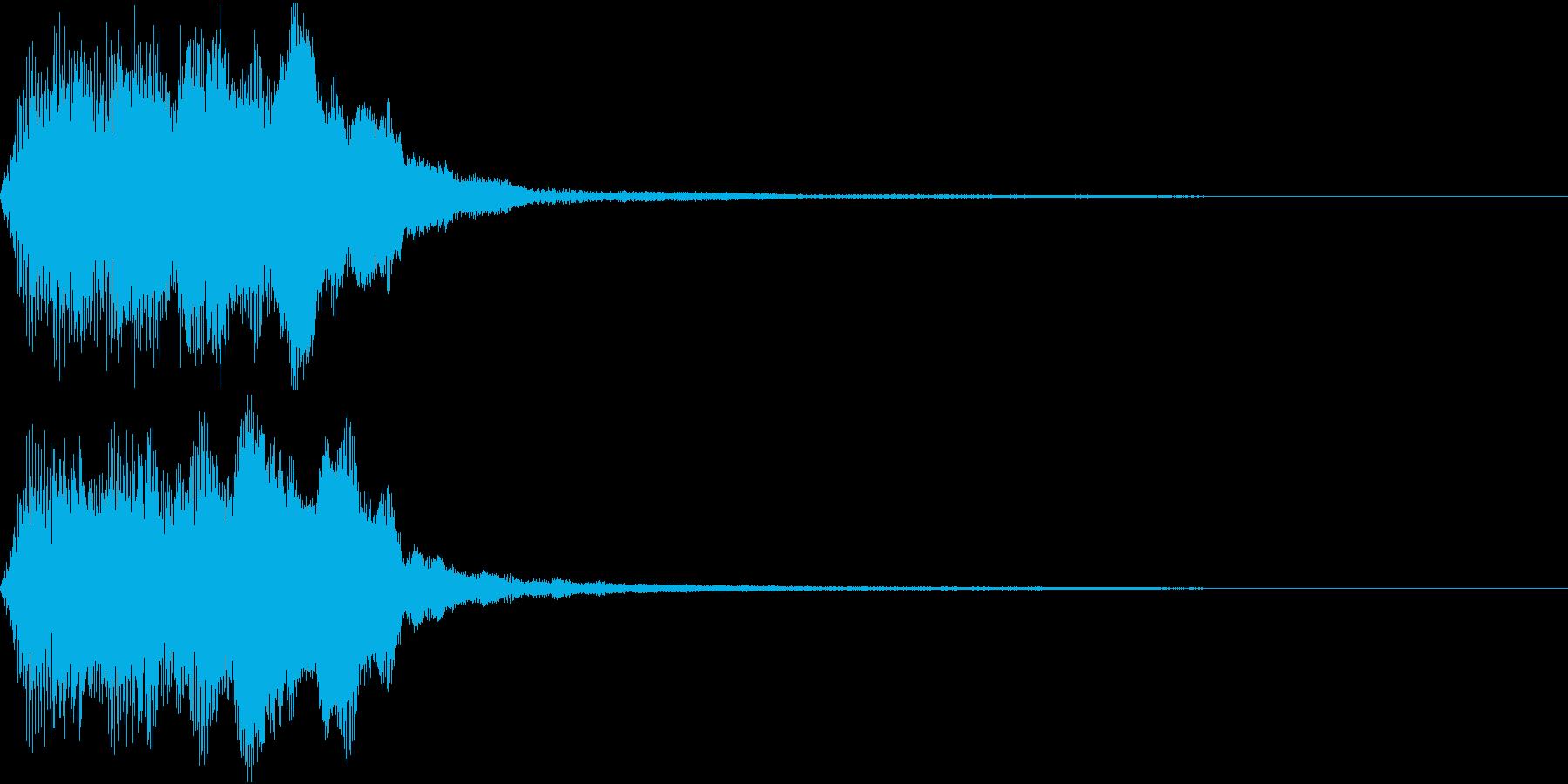 ラッパ ファンファーレ 定番 1 早いの再生済みの波形
