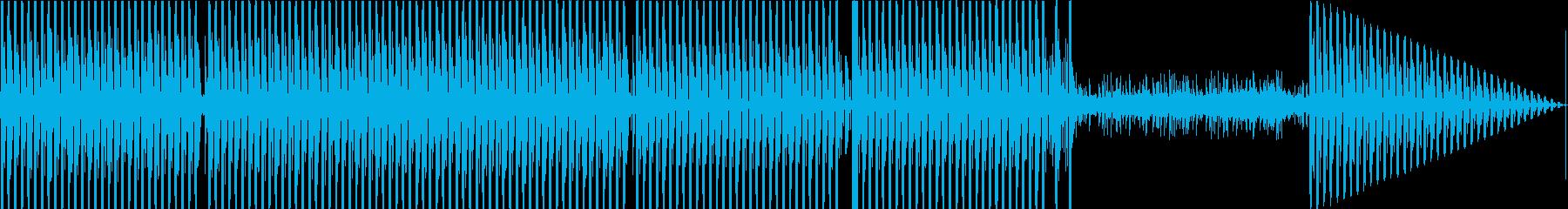 ハウスクラブの再生済みの波形