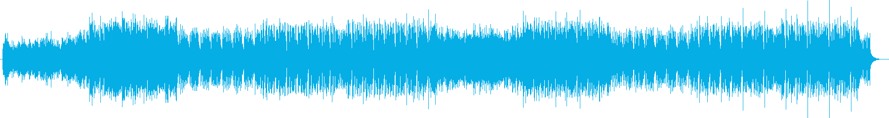 気分が上がるキャッチーなエレクトロソングの再生済みの波形