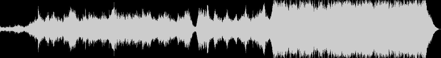 劇的でストレスの多い中世。サウンド...の未再生の波形