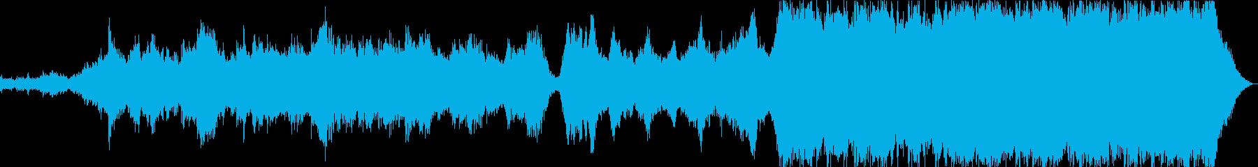 劇的でストレスの多い中世。サウンド...の再生済みの波形