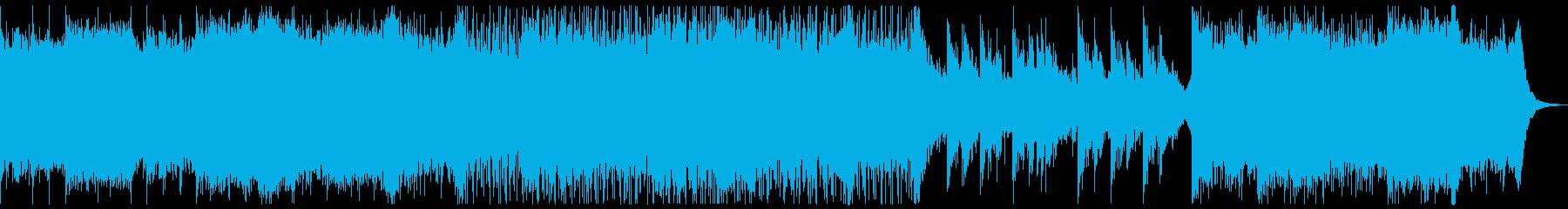 壮大なビートで出発や始まりを感じさせる曲の再生済みの波形