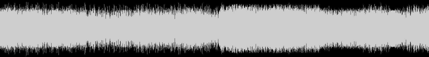 小型飛行機(セスナ)の着陸時の音の未再生の波形
