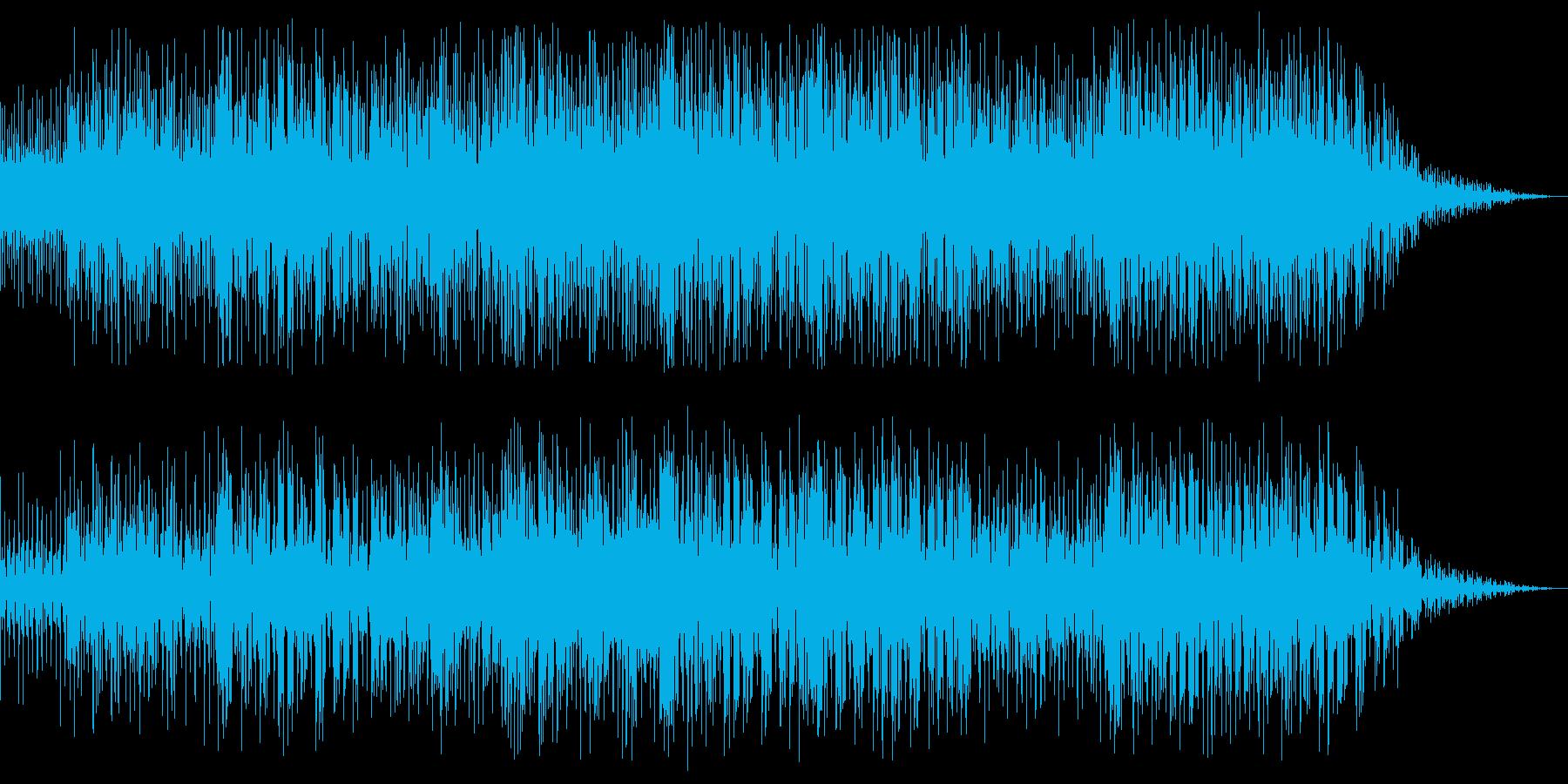 ボーカル、フルート、パーカッション...の再生済みの波形