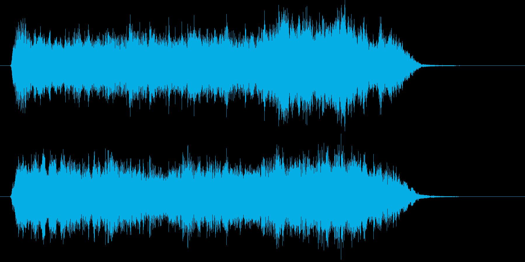 優雅で優しいクラシカルなジングルの再生済みの波形