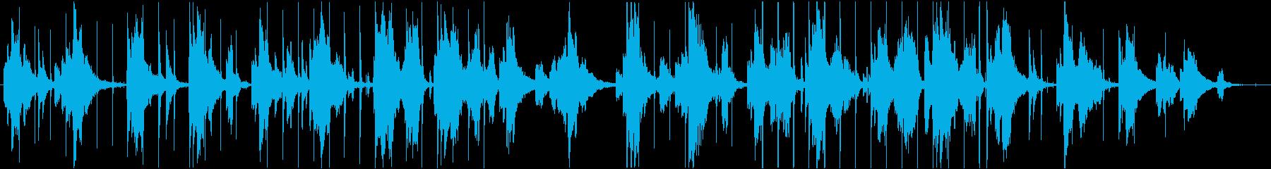 サックスが印象的なバラードの再生済みの波形