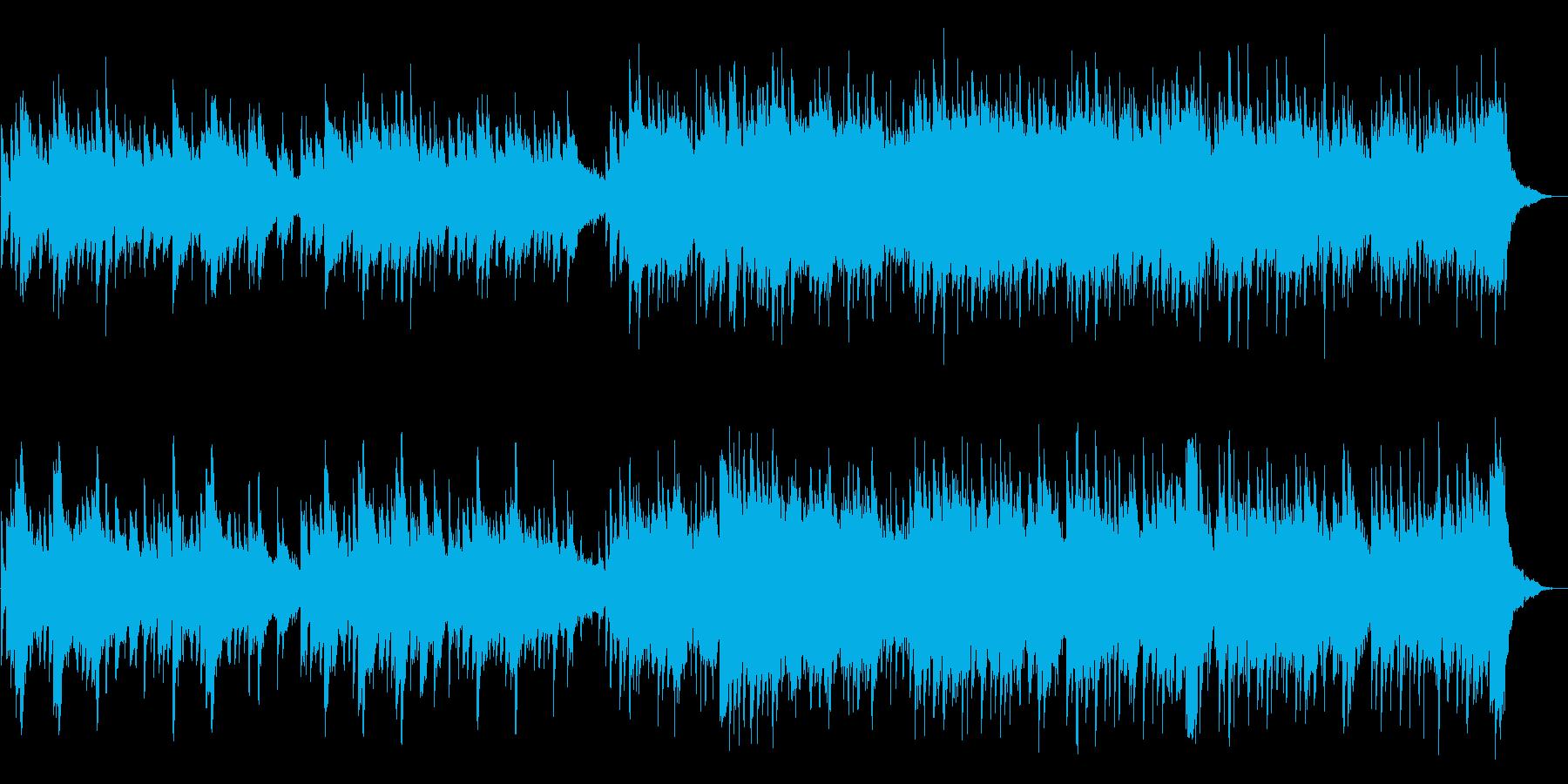 切なく美しいメロディのピアノ曲の再生済みの波形