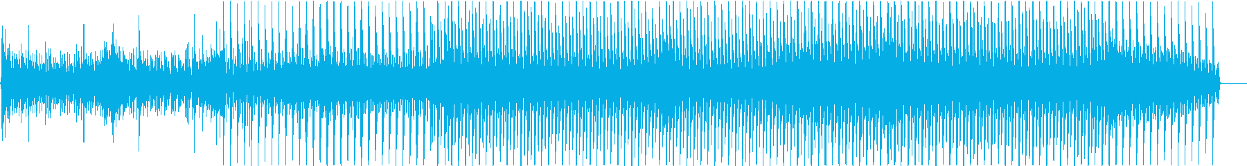 だんだん盛り上がるクールなダンスポップスの再生済みの波形