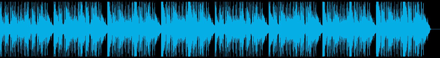 ピアノ・ジャジー・おしゃれの再生済みの波形