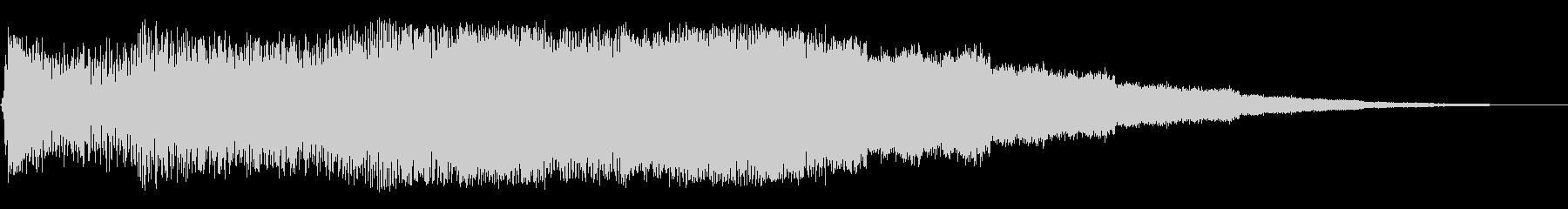 パワーフラックスパルサーの未再生の波形