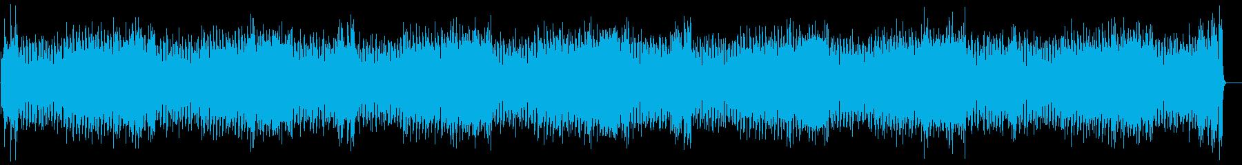 快適指数の高いポップ/フュージョンの再生済みの波形