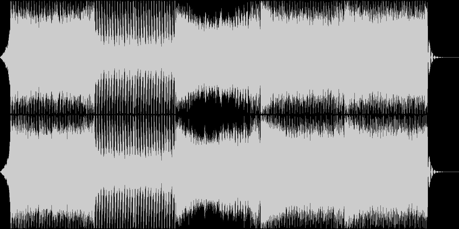 力強く前を向いていける雰囲気のEDMの未再生の波形