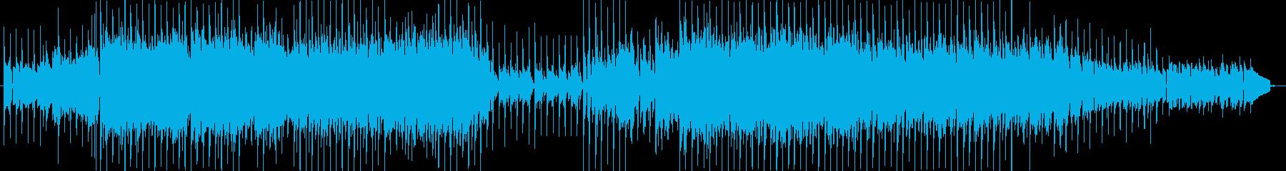 テクノっぽいの再生済みの波形