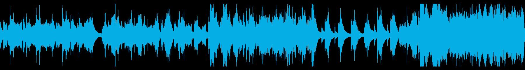 【ループ版】和風 バラード二胡の再生済みの波形