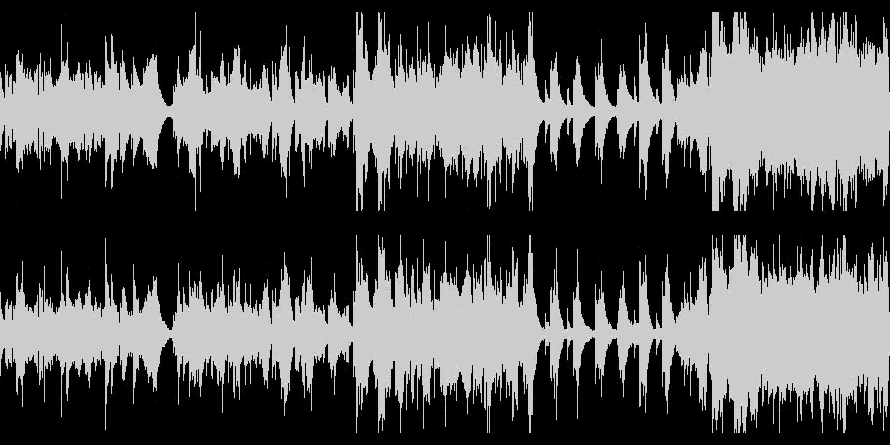 【ループ版】和風 バラード二胡の未再生の波形