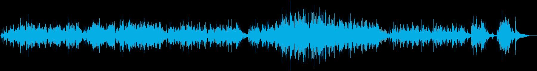 ピアノ生演奏!高貴でクラシカルなワルツの再生済みの波形