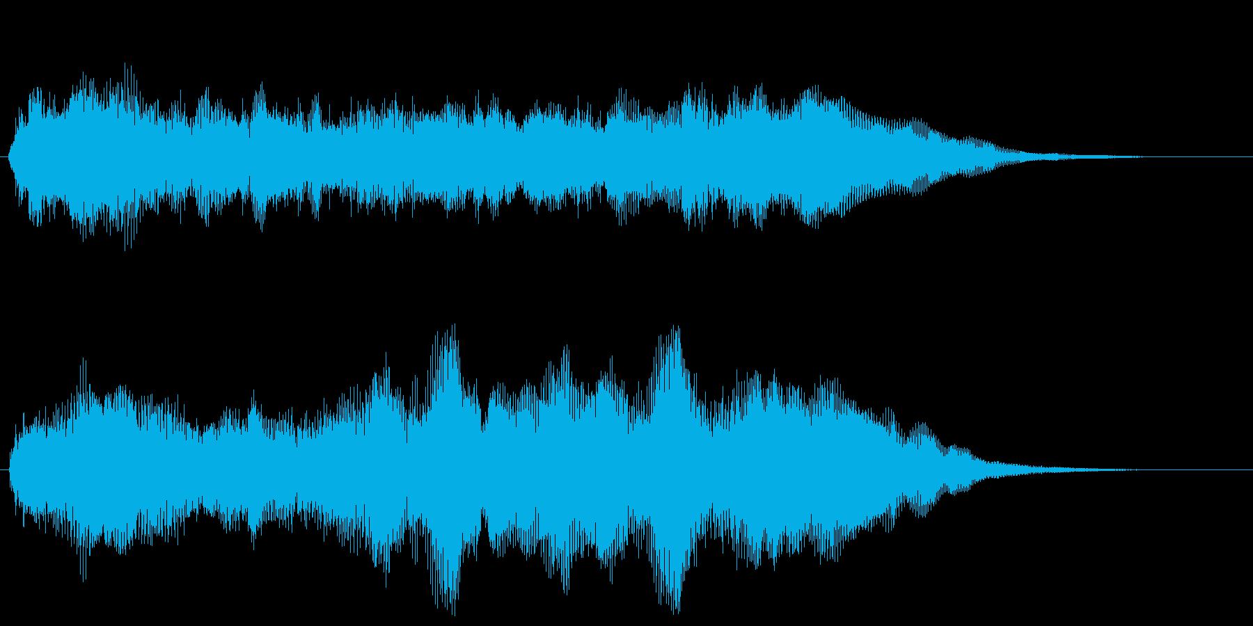 軽快なファンファーレ クリア 達成 栄光の再生済みの波形
